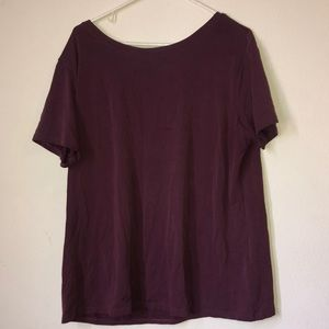 Maroon/purple shirt